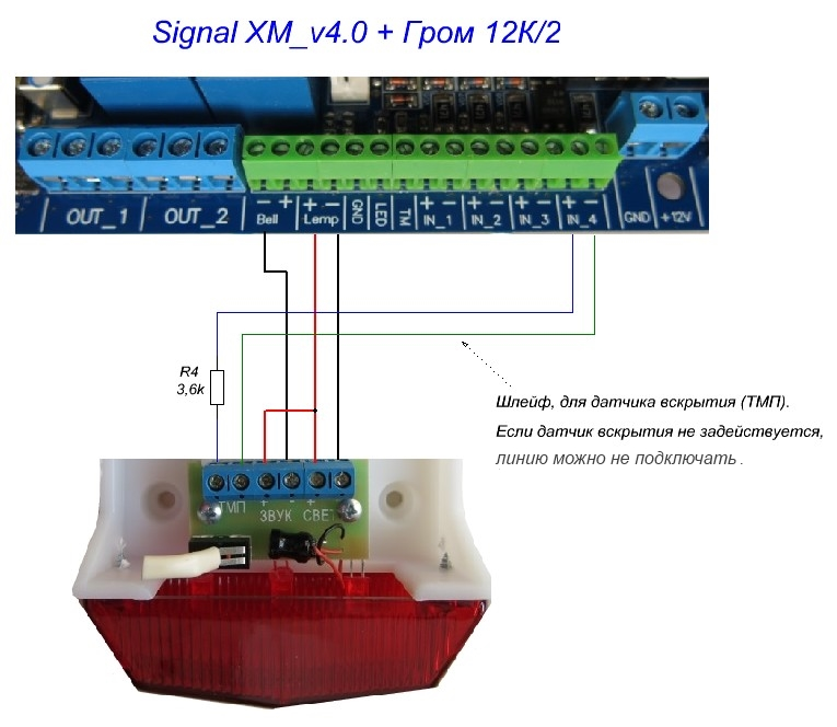 GSM-устройство сигнализации
